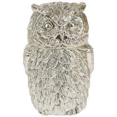 Unusual Italian 1960s 'Owl' Ice Bucket My Mauro Manetti