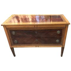 Italian Neoclassical Chest of Drawers