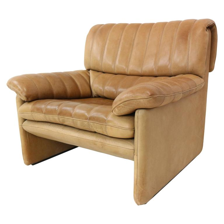 Sofa Lounge Chair Electric Brown Faux Leather Auto
