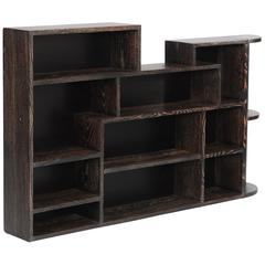 French Art Déco Bookcase Oak Cheruse (Keckwood) by Francisque Chaleyssin