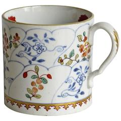 Copeland and Garrett Late Spode, Coffee Can, Japan Brocade Pattern, circa 1835