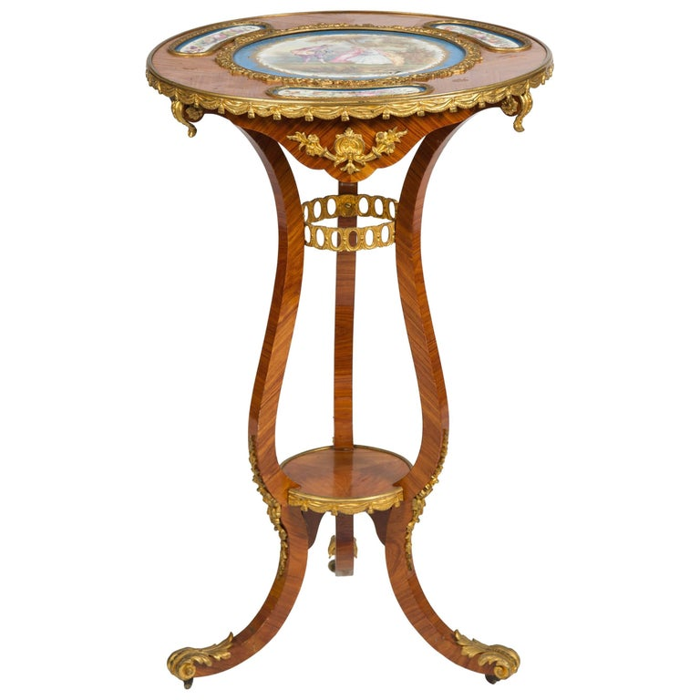 19th Century French Occasional Table For Sale