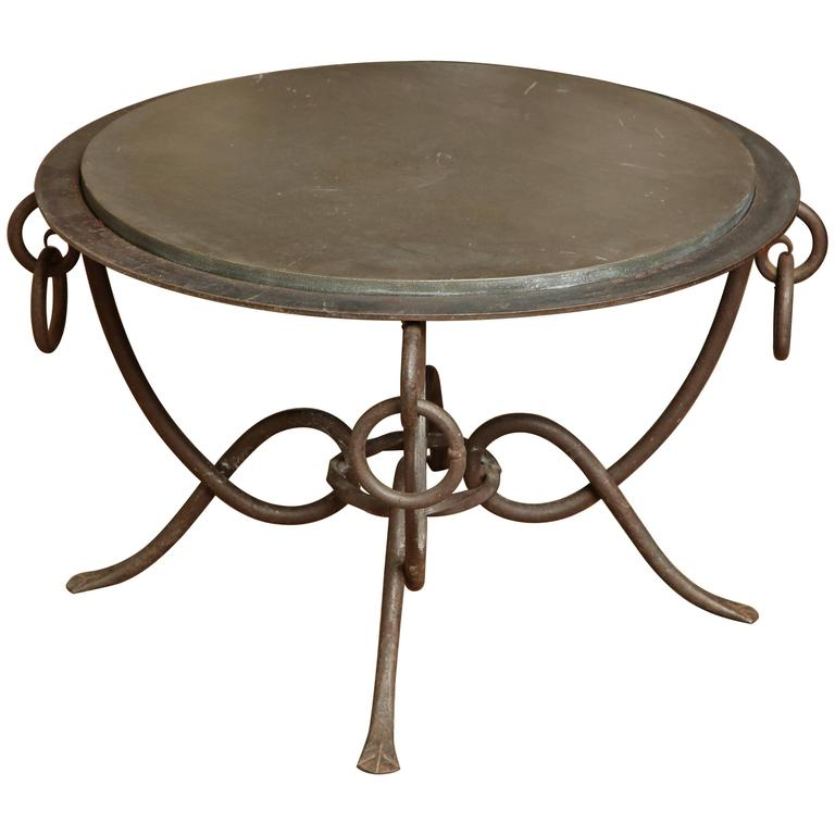 Wrought Iron Table 1