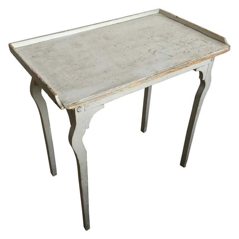 19th Century French Painted Work Table