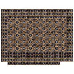 1920s Encaustic Minton 'Stoke Upon Trent' Tile Floor