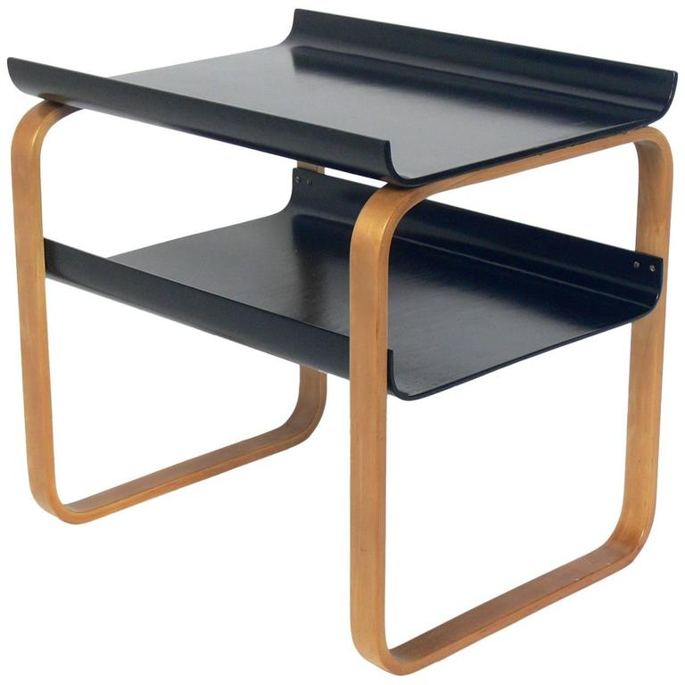 bentwood side table by alvar aalto circa 1940s at 1stdibs. Black Bedroom Furniture Sets. Home Design Ideas