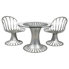 Three-Piece Patio Set by Woodard Co.