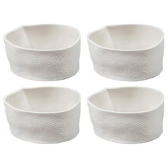 Set of Four Kawa Dishes by Luft Tanaka, Made to Order