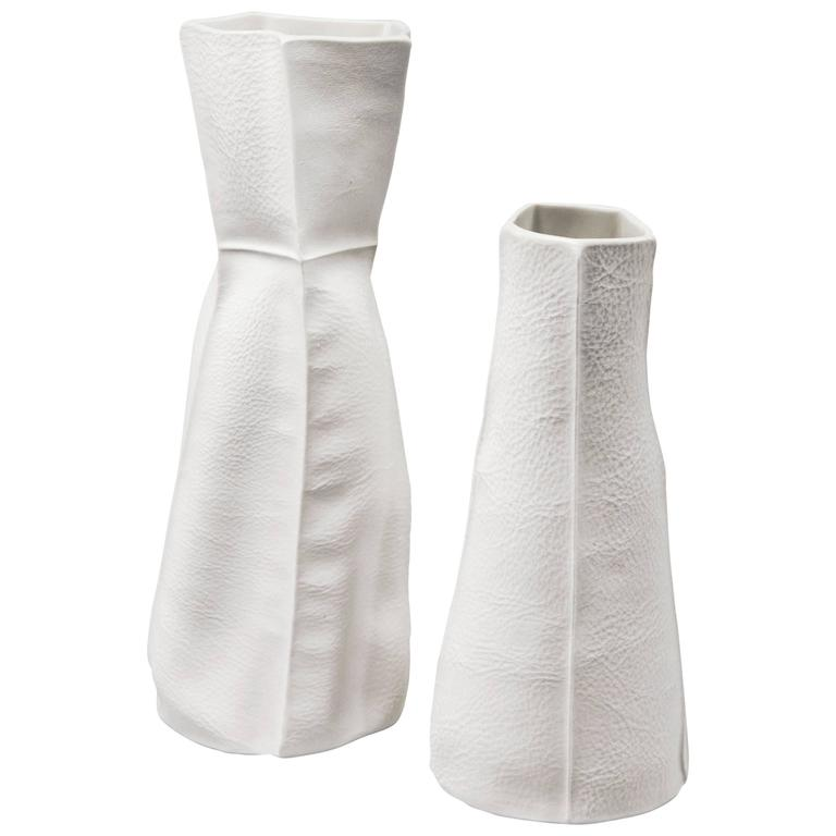 Pair of Kawa Vases by Luft Tanaka, Made to Order
