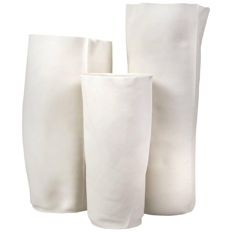 Set of Three Kawa Vessels by Luft Tanaka, Made to Order For Sale