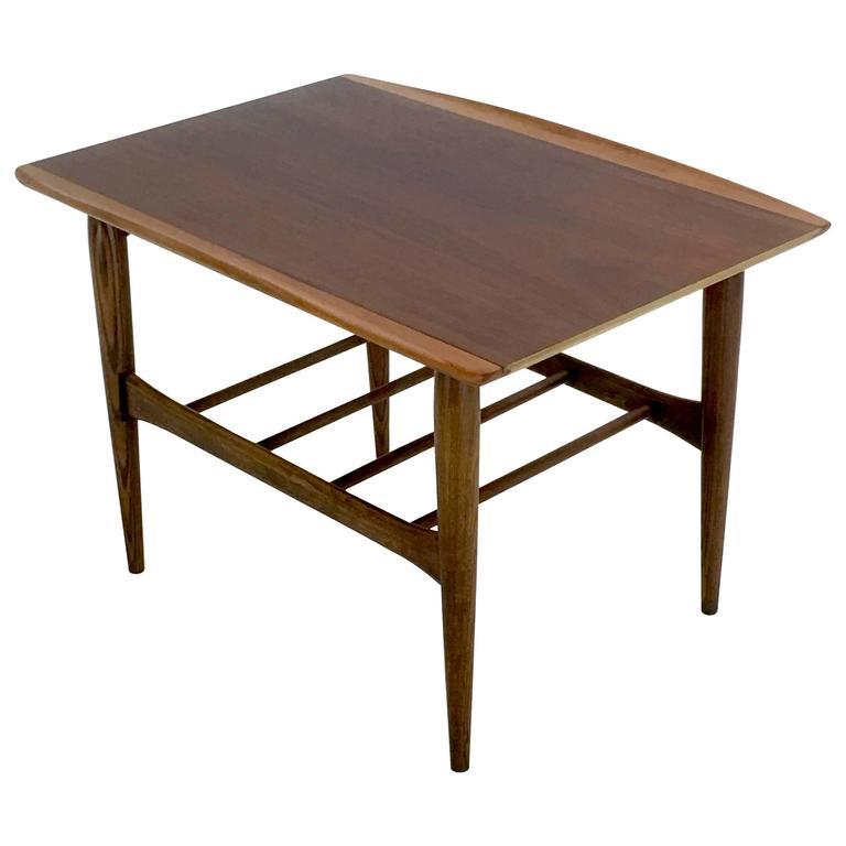 Rectangular Danish Modern Style Table by Bassett Furniture