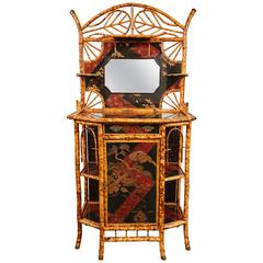 A 19th Century English Aesthetic Movement Lacquer Hall Tree