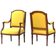 Pair of Louis XVI Chairs
