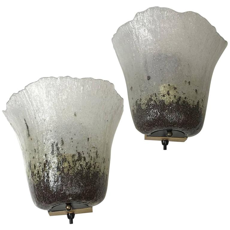 Pair of Peill & Putzler Calyx Sconces