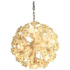 Sputnik Ceiling Lamp Italian Design, 1960s