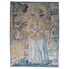 """Peace"" Exceptional 16th Century Flemmish Tapestry"