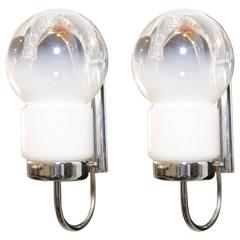 Pair of Mid-Century Modern Sconces