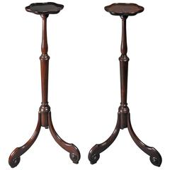 Georgian Candle Stands