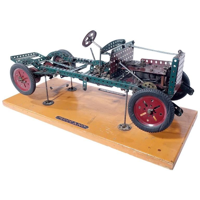 Factory Built Meccano Store Display For Sale