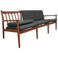 Danish Modern Sofa and Armchair by Grete Jalk, circa 1960
