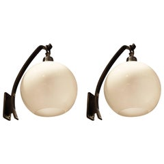 Pair of Wall Lights by Luigi Caccia Dominioni, Italy, 1970's