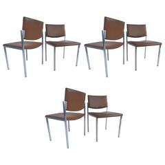 Set of Mid-Century Modern Conference Chairs by Steelcase