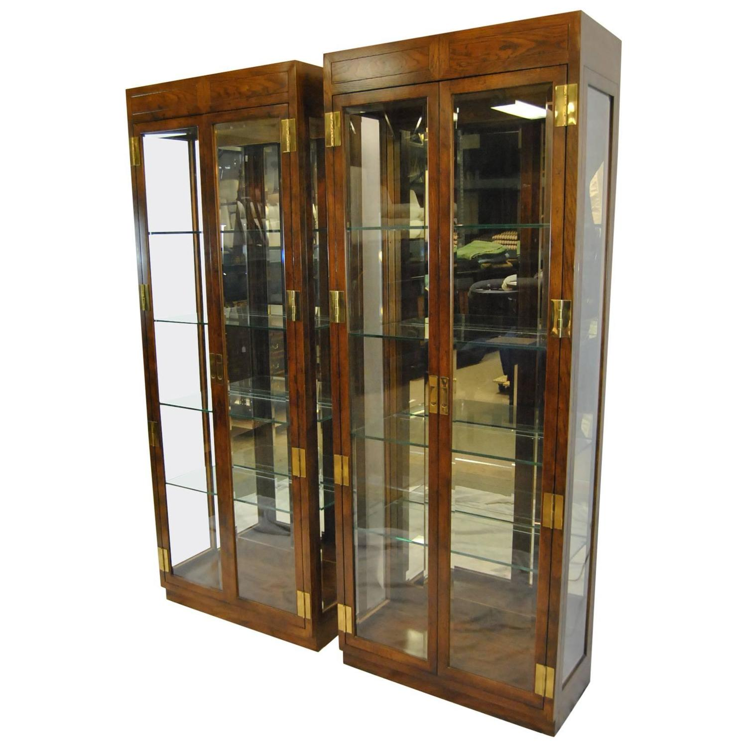 Barbara Barry Cabinet Barbara Barry Realized By Henredon Walnut Entertainment Center At