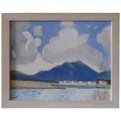 Achill Island Paint on Canvas by B O'neill