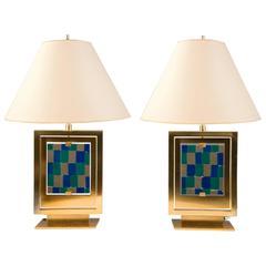 Pair of Lamps by Roberto Rida, Italy, 2016