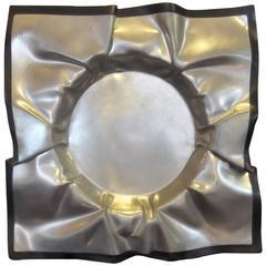 Brutalist Aluminium Bowl by Boris Bally