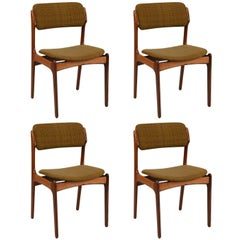 Set of Four Dining Chairs by Erik Buck