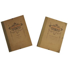 Collection Lescure Extremely Rare Portfolios About Lace