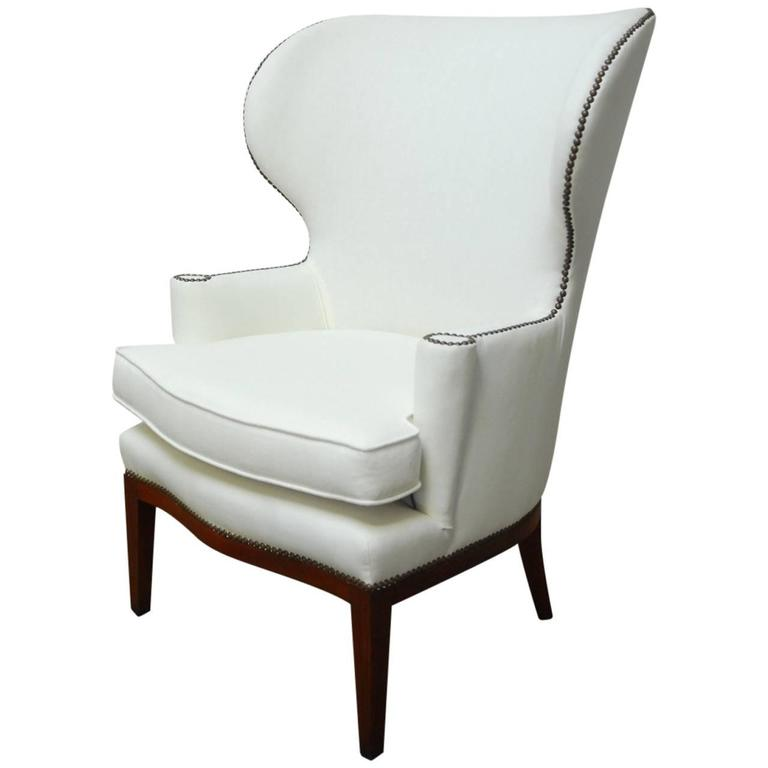 Mid-Century Wing Chair by Edward Wormley for Dunbar