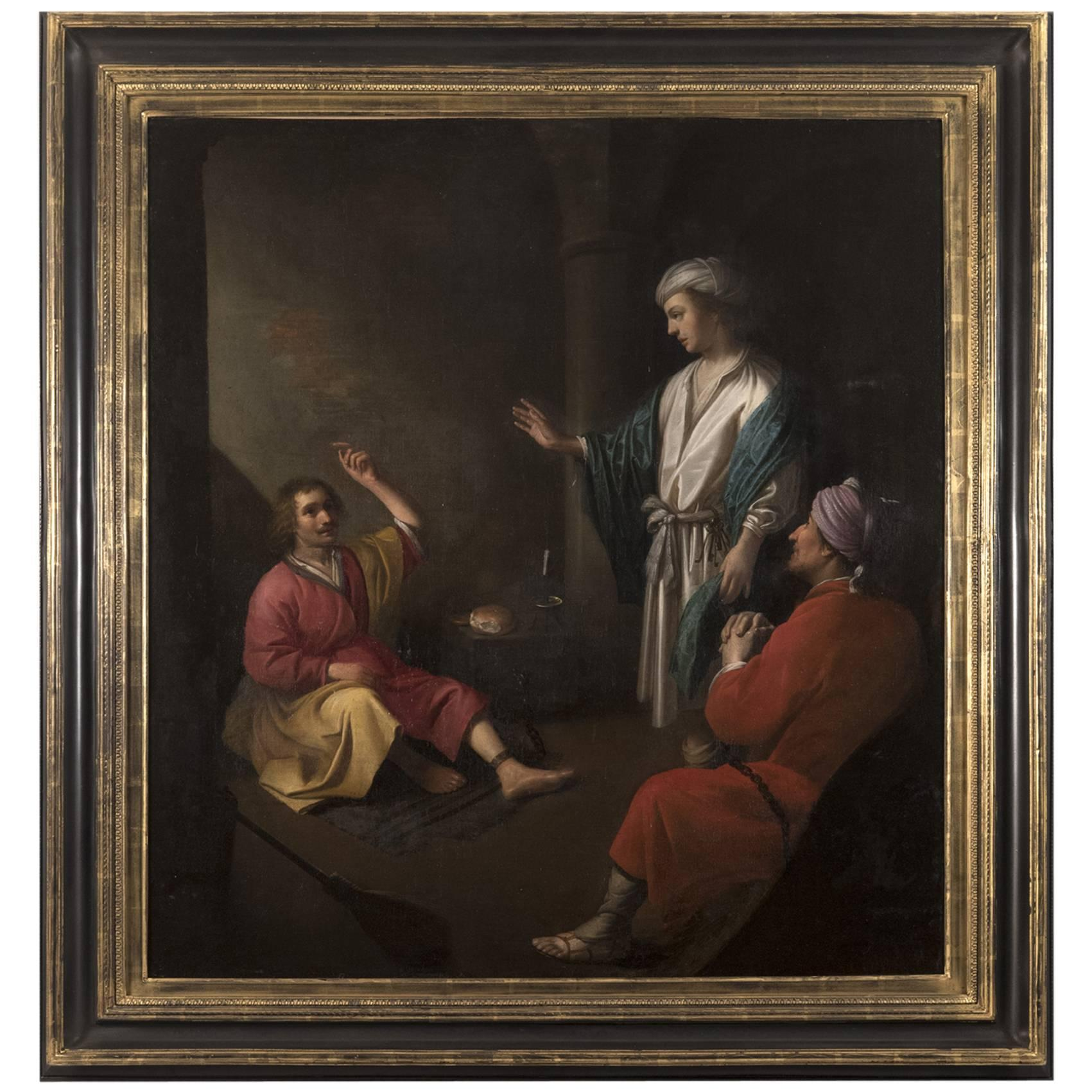 Joseph, the Cupbearer and the Baker in Prison