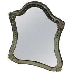 Table Mirror 1920 Very Chic and Elegant Crystal