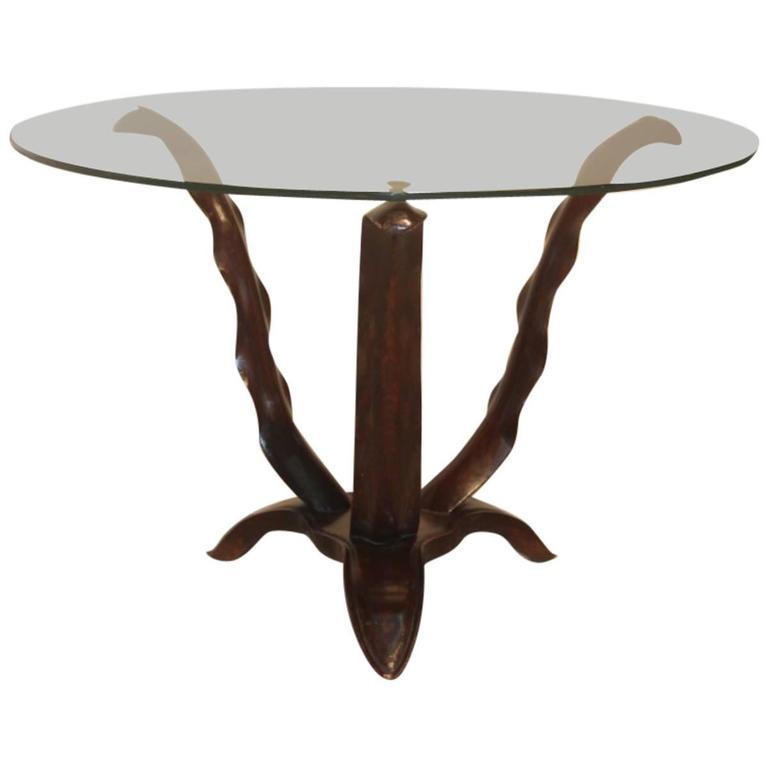 Midcentury Italian Design Coffee Table, 1940s