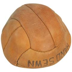 Vintage Unused Leather Football