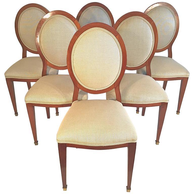 Set of Six Biedermeier Dining Chairs
