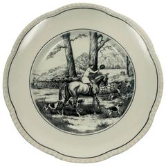 Vintage English Horse or Equine Fine Plate or Wall Art, England