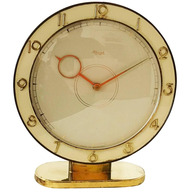 Art Deco Kienzle Table Clock For Sale
