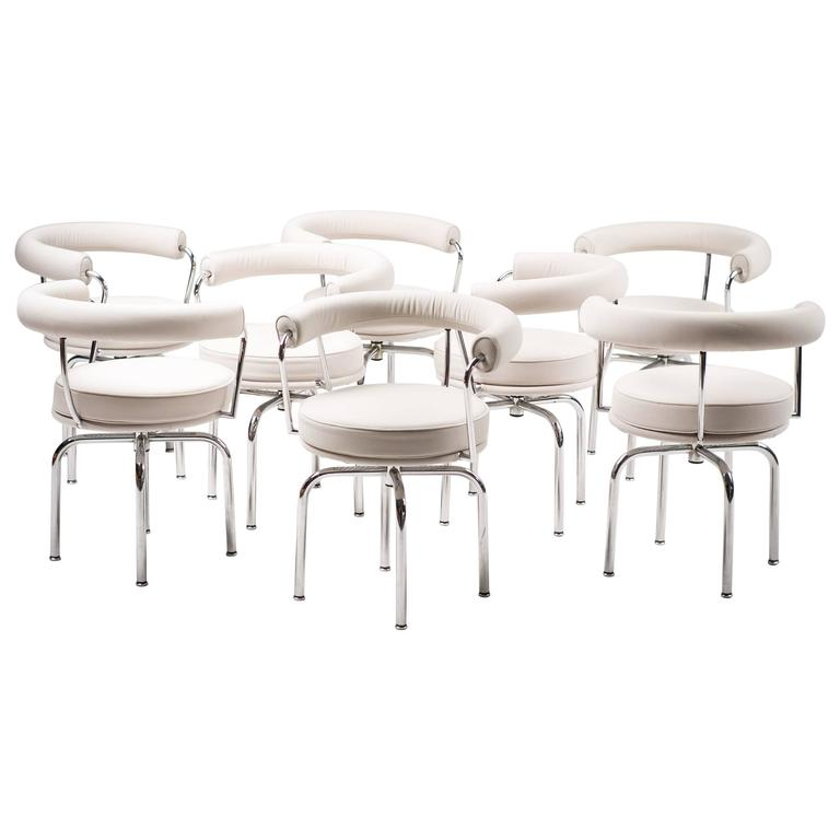 Charlotte Perriand LC7 Chairs by Cassina