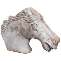Marble Horse Head