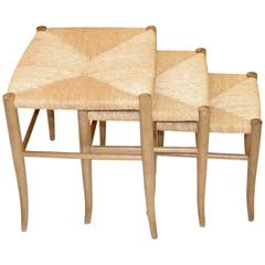 Set of Three Italian Nesting Stools