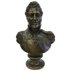 Charles X of France Bronze Bust