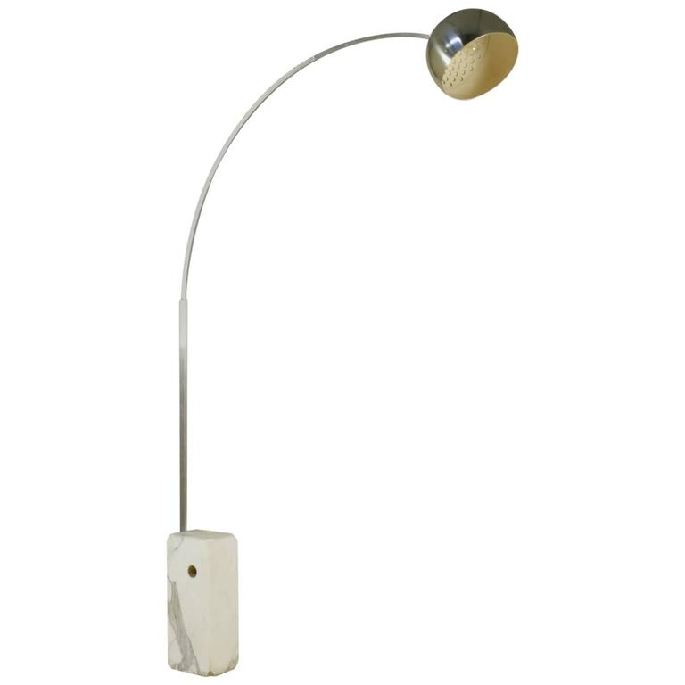 39 Arco 39 Floor Lamp By Castiglioni For Flos Marble Steel