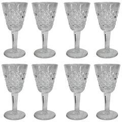 Waterford Crystal Aperitif Glasses, Set of Eight