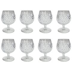 Waterford Crystal Brandy Snifters, Set of Eight
