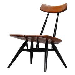 Ilmari Tapiovaara Pirkka Lounge Chair Finland, 1955