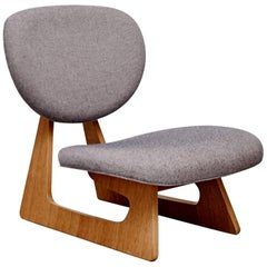 Junzo Sakakura Lounge Chair, circa 1950