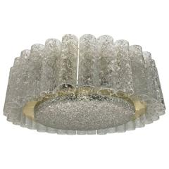 Doria Leuchten Glass Tube Flush Mount